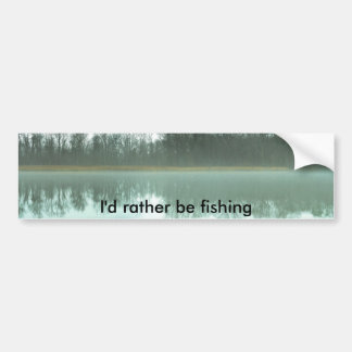Estaría pescando bastante pegatina para coche