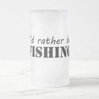 Estaría pescando bastante tazas