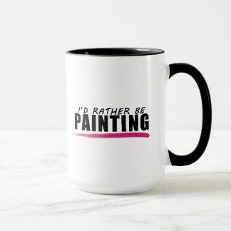 Estaría pintando bastante la taza de los artistas