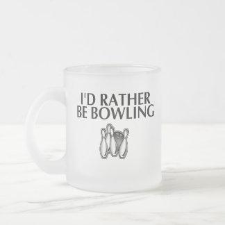 Estaría rodando bastante taza de café esmerilada