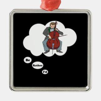 estaría tocando bastante el violoncelo 6 adornos