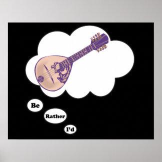 estaría tocando bastante la mandolina 2 impresiones