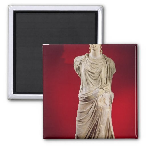 Estatua de Antonia el más joven Imanes De Nevera