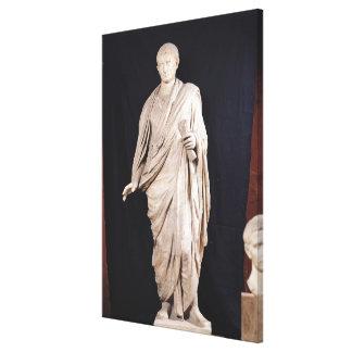 Estatua de César Augustus Lona Envuelta Para Galerías