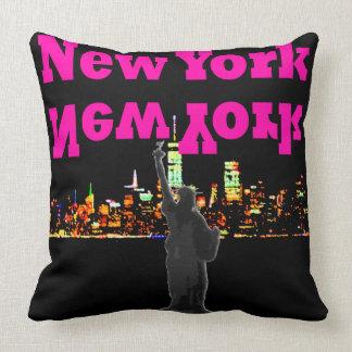Estatua de la almohada del viaje de Nueva York NYC