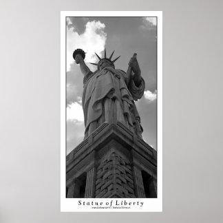 Estatua de la impresión de la libertad