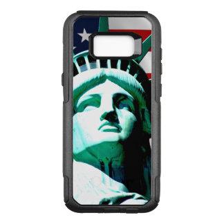 Estatua de la libertad, Nueva York, NY Funda Otterbox Commuter Para Samsung Galaxy S8+