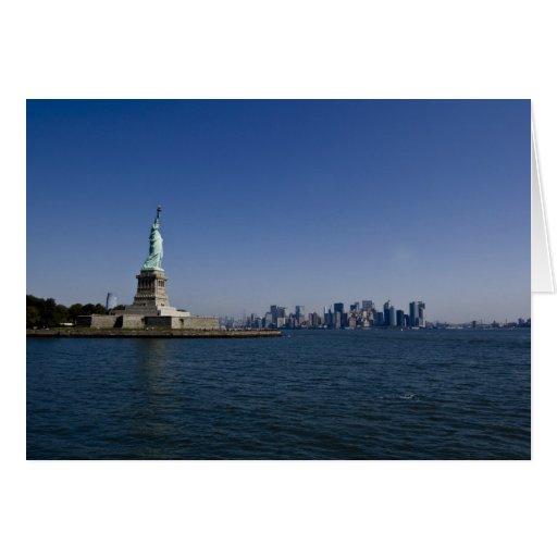 estatua de la tarjeta de la libertad