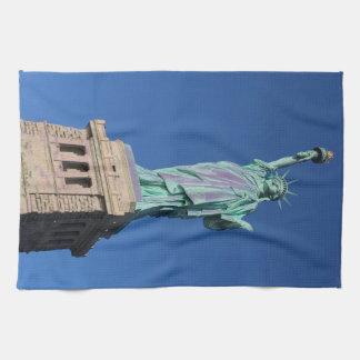 Estatua de la toalla de cocina de la libertad