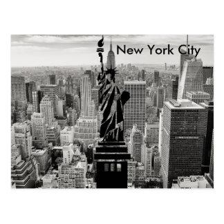 Estatua de New York City de la libertad Postal