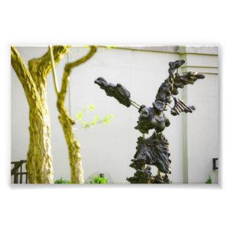 Estatua de piedra del ángel fotografías