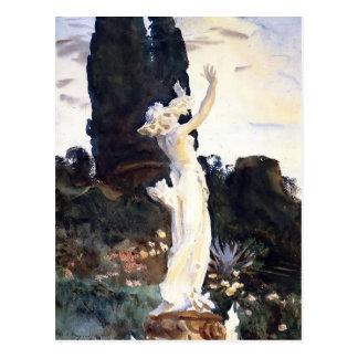 Estatua de Sargent- del cantante de Juan de Daphne Postal