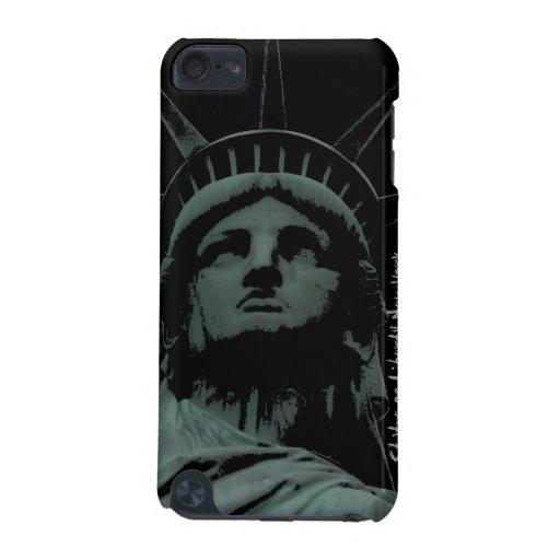 Estatua del caso del tacto de Nueva York iPod del