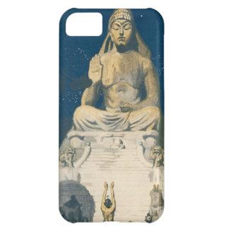 Estatua del cielo nocturno de Buda del vintage