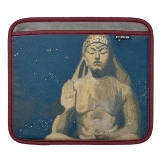 Estatua del cielo nocturno de Buda del vintage Fundas Para iPads