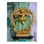 Estatua hindú del templo hindú de Chettiar Postal
