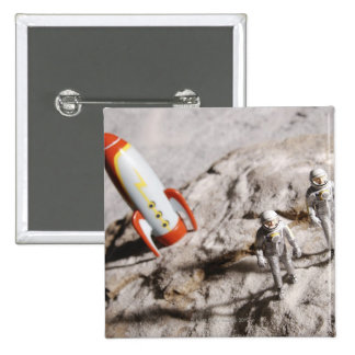 Estatuillas del astronauta pin