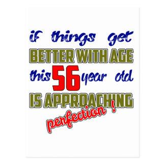 ¡Este 56 años se están acercando a la perfección! Postal