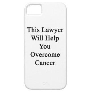 Este abogado le ayudará a superar al cáncer iPhone 5 Case-Mate protector