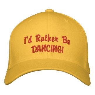 Esté bailando bastante el CASQUILLO Gorra De Béisbol