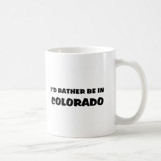 Esté bastante en Colorado Taza