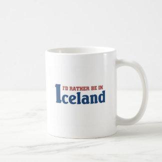 Esté bastante en Islandia Taza