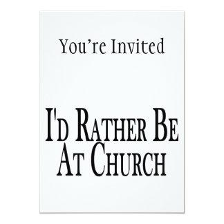 Esté bastante en la iglesia
