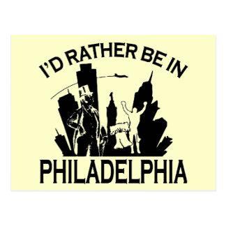 Esté bastante en la postal de Philadelphia