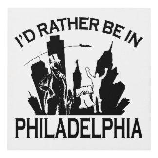 Esté bastante en Philadelphia Cuadro