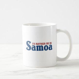 Esté bastante en Samoa Taza Clásica