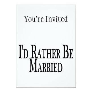 Esté casado bastante invitación 12,7 x 17,8 cm