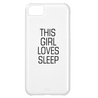 Este chica ama sueño carcasa iPhone 5C