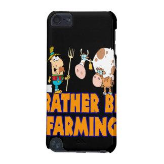 esté cultivando bastante el granjero y vacas funda para iPod touch 5G