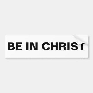 """Esté en pegatina para el parachoques de Cristo"""