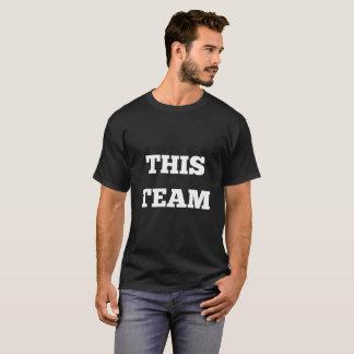Este equipo - camisa del texto
