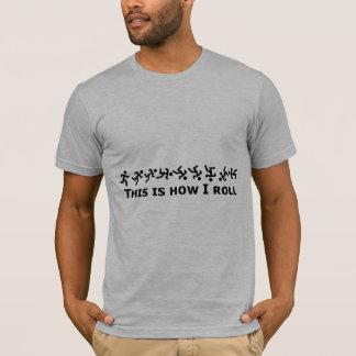 Éste es cómo ruedo - individuo del balanceo camiseta