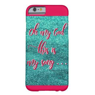 Éste es mi caso del iPhone 6/6s de la canción Funda Barely There iPhone 6