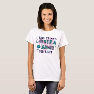 Éste es mi contra la camiseta de la danza
