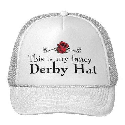 Éste es mi gorra de lujo de Derby