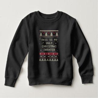Éste es mi suéter feo del navidad