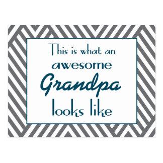 Éste es un qué abuelo impresionante parece postal