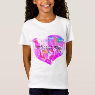 Éste es yo la camisa del chica