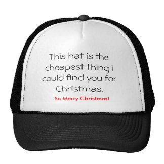 Este gorra es la cosa más barata que podría encont