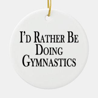 Esté haciendo bastante la gimnasia