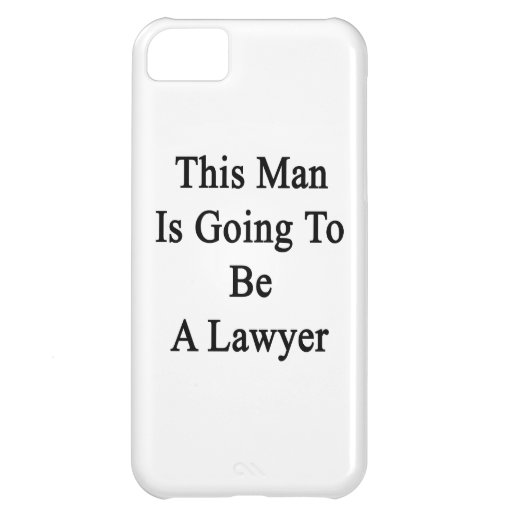 Este hombre va a ser abogado