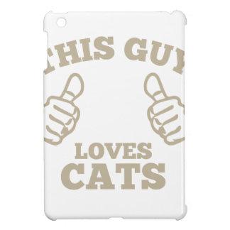 Este individuo ama gatos