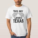este individuo ama Tejas Camiseta