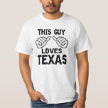 este individuo ama Tejas Camisetas