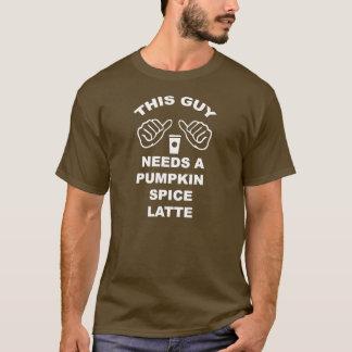 Este individuo necesita una especia Latte de la Camiseta