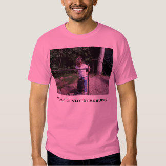 Éste no es Starbucks, pequeña diva Camiseta